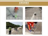 广东菊兰路面裂缝冷灌自流平修补胶应用于南海公路