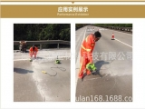 F390路面裂缝冷灌自流平修补胶的应用工程